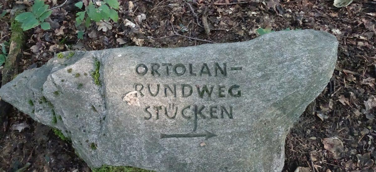 Ortolan-Wanderweg
